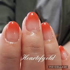 くすみオレンジネイル Instagram Posts Gramhanet