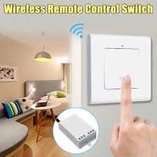No wiring lighting Apartment Details About Way Wireless Lamp Light Wall Switch Onoff Remote Control No Wiring Receiver Jamminonhaightcom Way Wireless Lamp Light Wall Switch Onoff Remote Control No