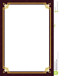 template microsoft word frame template