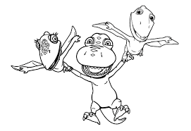 Small Picture Dinosaur Train Coloring Pages Buddy Coloring Pages