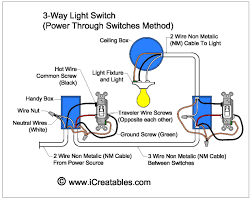 how to wire a three way switch diagram