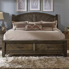 rustic queen bed. Wonderful Rustic Liberty Furniture Modern Country Queen Storage Bed  Item Number 833BRQSB On Rustic R