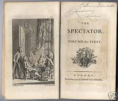 book the spectator addison and steele all antique books 1711 book the spectator addison and steele