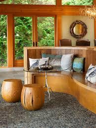 plain wood garden stool side table garden stool