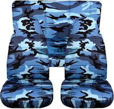 jeep wrangler blue camo seat covers