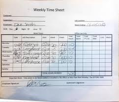Time Sheets Changing From Paper To Digital Timesheets Assignar