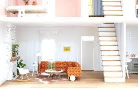 mid century modern dollhouse furniture. Miniature Living Room Furniture Mid Century Modern Dollhouse
