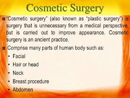 plastic surgery law  cosmetic