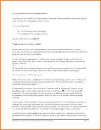 Performance Reviews Samples Self Appraisal Examples On Sample Evaluation For Performance Review
