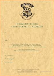 harry potter hogwarts letter acceptance letter without v