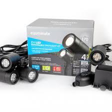 garden spotlights low voltage plug