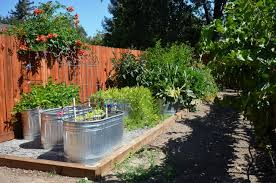 how to turn a stock tank into a planter