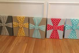 fabric designs frabric cross canvas on diy fabric cross wall art with 25 unique diy wall art ideas with printables shutterfly