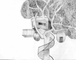 how to draw a treehouse step by step. Fine Draw Advertisements With How To Draw A Treehouse Step By E