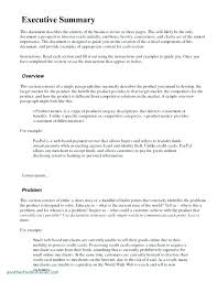 Writing Executive Summary Template Executive Summary Template Word Puebladigital Net