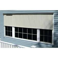 l charcoal horizontal exterior roll up shade window sun shades solar screens cost n