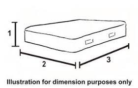 mattress drawing. Simple Mattress View Dimensions And Footprint And Mattress Drawing E