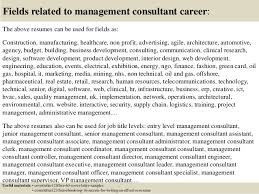 Management Consulting Cover Letter Classy Top 48 Management Consultant Cover Letter Samples