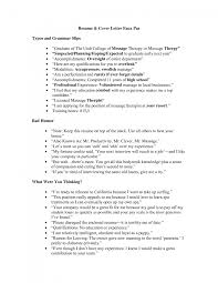 cover letter sample resume for massage therapist sample resume  cover letter cover letter template for massage therapist inner beauty essay therapy samplesample resume for massage