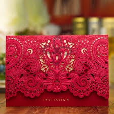 Wedding Card Design Lace Design Laser Cut Invitation All Colors Of Indian Wedding Card