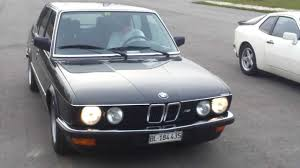 All BMW Models 1987 bmw 528i : bmw 535 1987 drift - YouTube