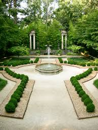 Small Picture Boxwood garden at Atlanta Swan house via Atlanta History Center