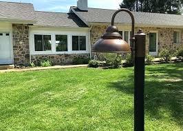 yard light posts lamp post diy94