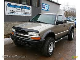2003 Chevrolet S10 ZR2 Extended Cab 4x4 in Light Pewter Metallic ...