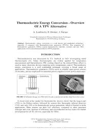thermoelectric energy conversion overview of a tpv alternative inverter transformer winding calculation at Tpv Wiring Diagram