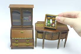 miniature dollhouse furniture woodworking. Dollhouse Furniture Miniature Wood Cabinet Doll Display Youtube Throughout The Most Amazing Along With Attractive Woodworking N