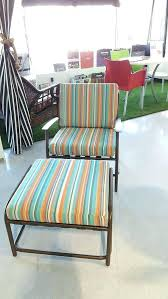 rain cushions new custom chair cushion and ottoman in silver state sunbrella frontgate