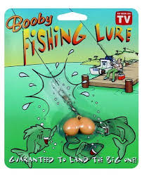 novelty y fishing lure prank gift for the fisherman