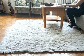 faux fur sheepskin rug grey architecture inside rugs pearls and scissors north star design uk