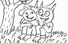 Griezel Kleurplaat Kinderboekenweek