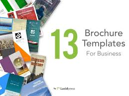 Best Brochure Templates 13 Best Brochure Templates For Business