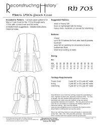 Pirate Coat Pattern