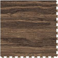 perfection floor tile vintage wood collection 6 piece 20 in x 20 in tiger wood loose lay vinyl tile