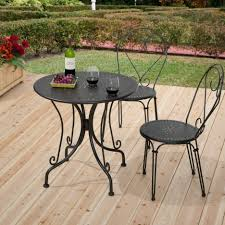 wrought iron bistro chair wrought iron fan back chair round wrought iron patio set