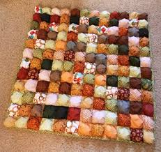 """Super Easy Quilt Patterns Free Fascinating A Friday Finish The """"Puff"""" Quilt"""
