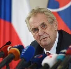 Tschechien hat laut Präsident Zeman Nowitschok getestet - WELT