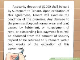 sublease contract template awesome commercial sublet lease agreement template business sublease