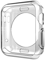 <b>Чехол EVA для Apple</b> Watch 44mm, прозрачный (ADC005T ...