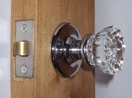 vintage glass door knobs glass