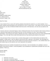 Cover Letters Examples For Teachers Teaching Cover Letters Samples