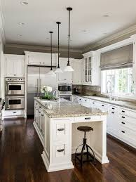 charming ideas white kitchen cabinets with dark floors for designs home kitchens dream mesirci com
