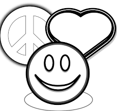 Small Picture Beautiful Peace Sign Coloring Pages Pictures New Printable