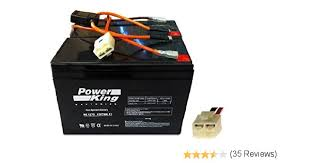 amazon com razor scooter battery and new wiring harness 12 volt amazon com razor scooter battery and new wiring harness 12 volt 7ah set of 2 includes 6 dw 7 beiter dc power® automotive batteries sports
