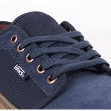 vans shoes blue and black. vans chukka low skate shoes - rich navy/gum blue and black z