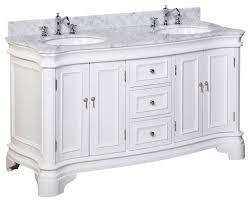 72 Inch Bathroom Vanity Double Sink Impressive Katherine 48 Bath Vanity Traditional Bathroom Vanities And Sink