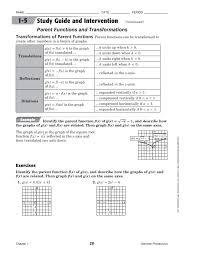 Algebra Practice Workbook Mcgraw Hill Glencoe Algebra 1 For 9th ...